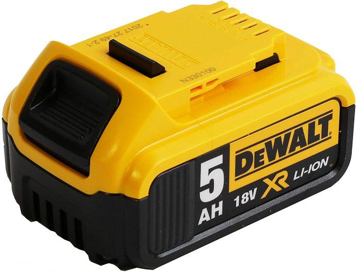 Batterie Dewalt Li-ion 18v 5 ah
